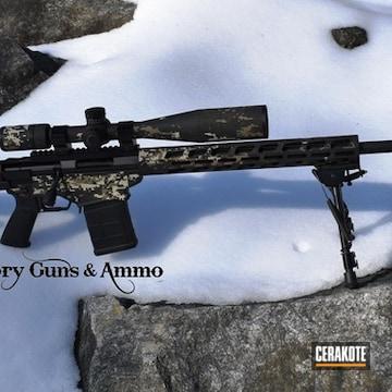 Cerakoted Long Range Ruger Precision Rifle In A Cerakote Digital Camo