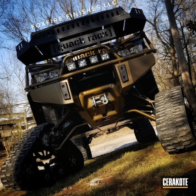 Cerakoted: Off Road,Graphite Black C-102,Burnt Bronze C-148,Run You Over,More Than Guns,Quack Rack,Can Am Defender,Side by Side,Can-Am