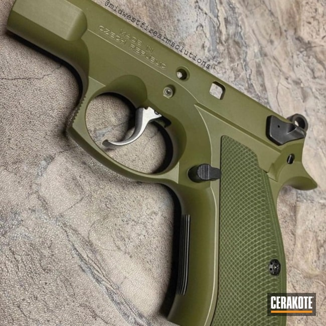 "Thumbnail image for project ""CZ 75 Pistol in a Cerakote H-189 Finish"""