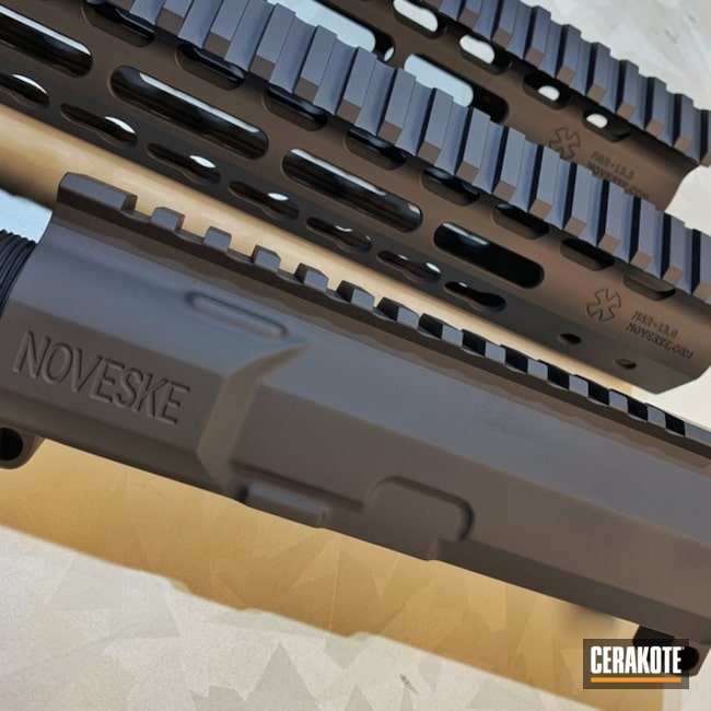 "Thumbnail image for project ""Noveske Handguard in an H-190 Armor Black Cerakote Finish"""