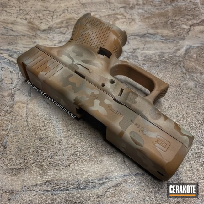 "Thumbnail image for project ""Cerakote Desert MultiCam"""