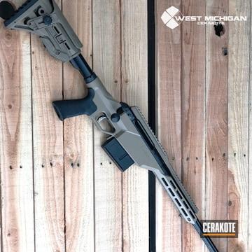 Cerakoted Savae 300 Win Mag Bolt Action Rifle In Cerakote H-267