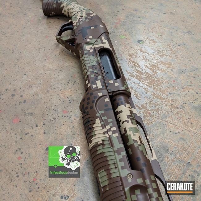 "Thumbnail image for project ""Benelli Shotgun in a Cerakote Optifade Camo Finish"""