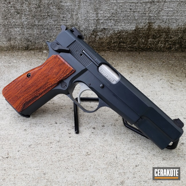 "Thumbnail image for project ""Restored Browning High Powder with Cerakote E-110 Midnight"""
