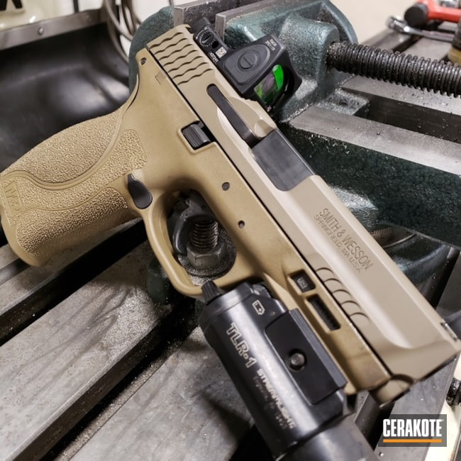 "Thumbnail image for project ""Smith & Wesson Handgun with Cerakote H-265"""