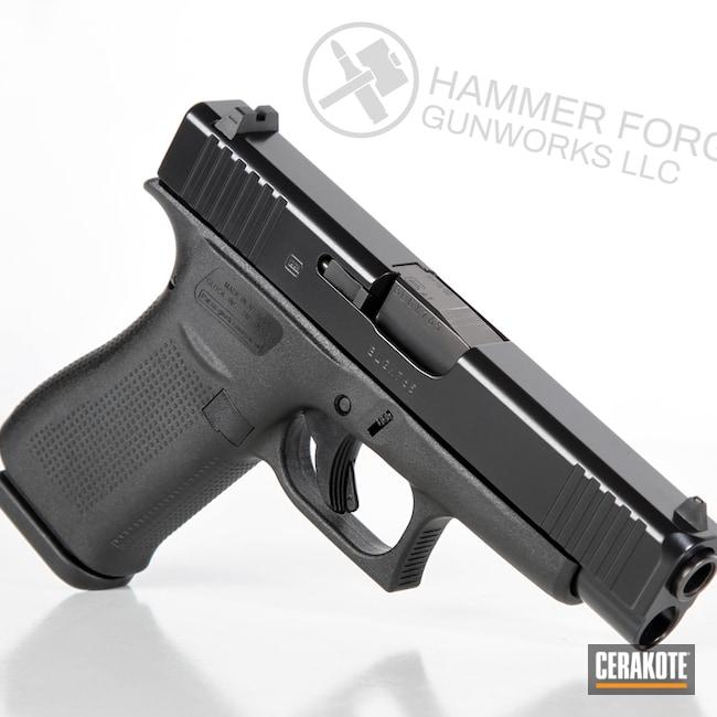 Cerakoted E-100 Blackout On This Glock 48 Handgun