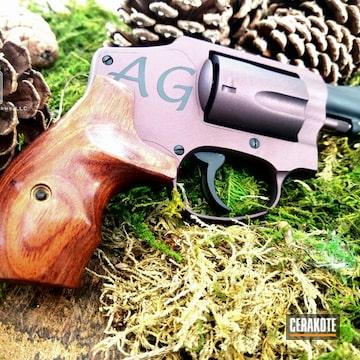 Cerakoted Revolver In A Cerakote And Gun Candy Finish