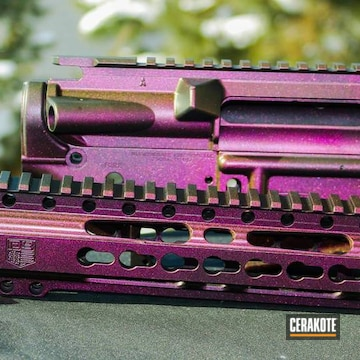 Cerakoted H-146 Graphite Black And Gun Candy