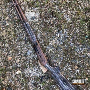 Cerakoted Distressed Shotgun Finish