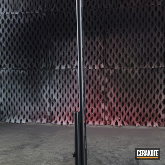 "Thumbnail image for project ""Shotgun Barrel with Cerakote Graphite Black"""