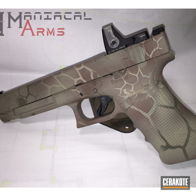 "Thumbnail image for project ""Glock 34 Cerakote Kryptek Finish"""