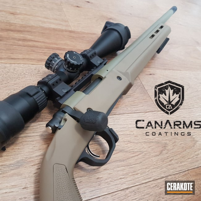Cerakoted: Bolt Action Rifle,HAZEL GREEN H-204,Barrel,Remington,Remington 700