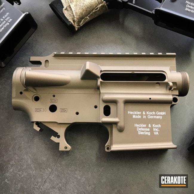 Cerakoted: Upper / Lower,Burnt Bronze H-148,Solid Tone