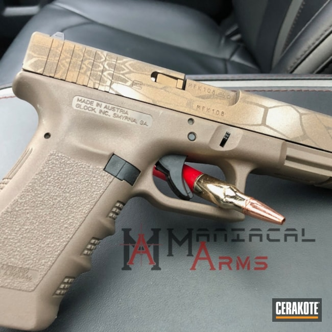 "Thumbnail image for project ""Glock 17 in a Cerakote Kryptek Finish"""