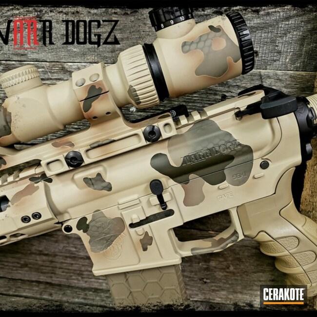 Cerakoted: Vortex,MAGPUL® FLAT DARK EARTH H-267,Scope,Desert Sand H-199,Camo,Tactical Rifle,Bigbore,Reptile Camo,MAGPUL® O.D. GREEN H-232,Custom Camo,.458Socom,AR-15