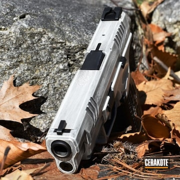 Cerakoted Stormtrooper Themed Springfield Xd Handgun