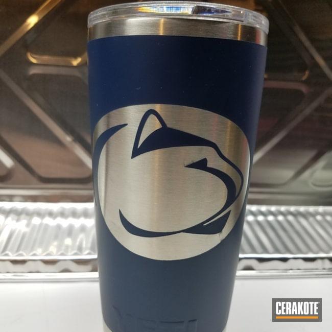 Cerakoted: YETI,YETI Cup,KEL-TEC® NAVY BLUE H-127,More Than Guns,Custom Tumbler Cup