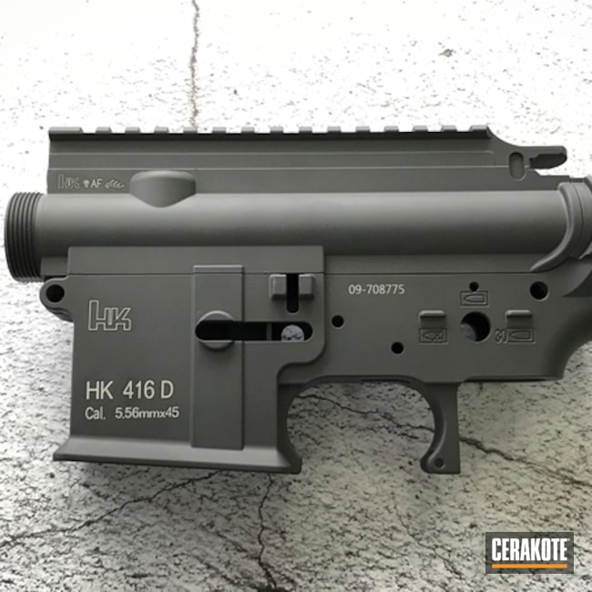 Cerakoted: Upper / Lower,SPRINGFIELD® GREY H-304,Solid Tone