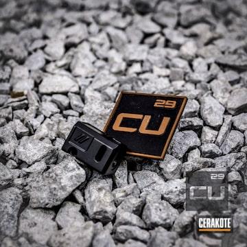Cerakoted Glock Compensator Finished In Cerakote C-192 Armor Black