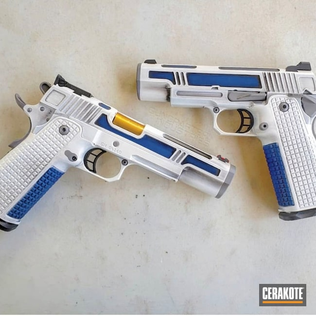 1911 Star Wars Themed Handguns