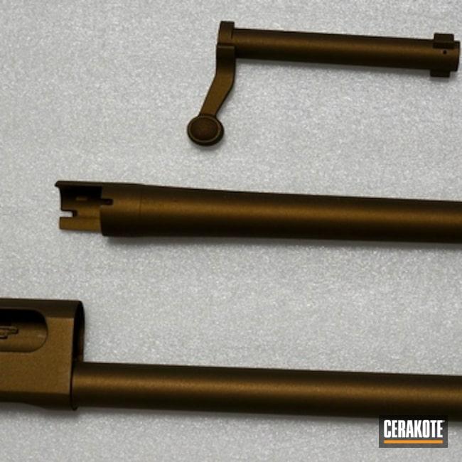 Cerakoted: Shotgun,Burnt Bronze H-148,Remington 870,Remington