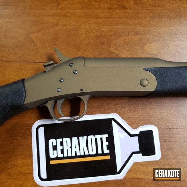 Cerakoted: Shotgun,Burnt Bronze H-148