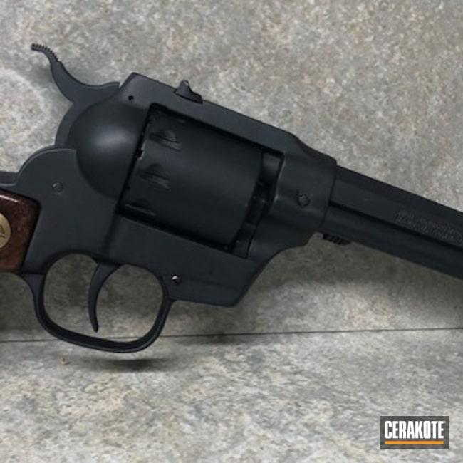 Cerakoted: Sniper Grey H-234,Trapping Gun,Revolver,Pistol,22 Mag