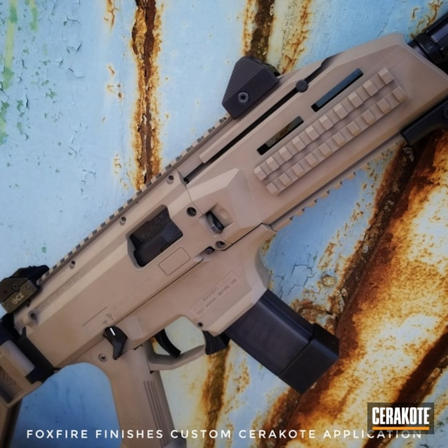 Cerakoted: CZ Scorpion Evo,MAGPUL® FLAT DARK EARTH H-267,Tactical Rifle,CZ