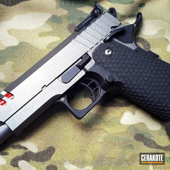 "Thumbnail image for project ""H-237 Tungsten with C-192 Armor Black and H-216 Smith & Wesson Red"""