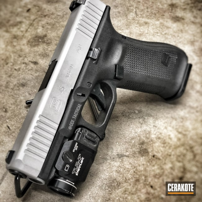 "Thumbnail image for project ""Glock 45 done in H-255 Crushed Silver"""