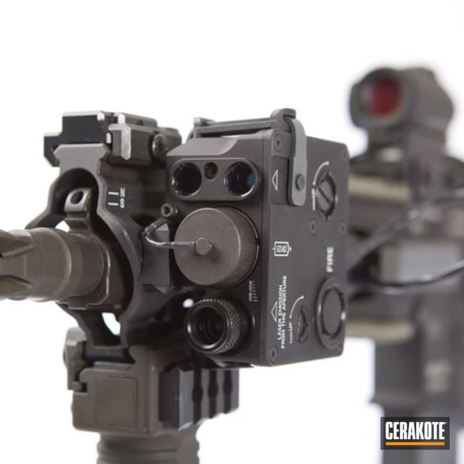 Cerakoted: Cobalt H-112,Laser