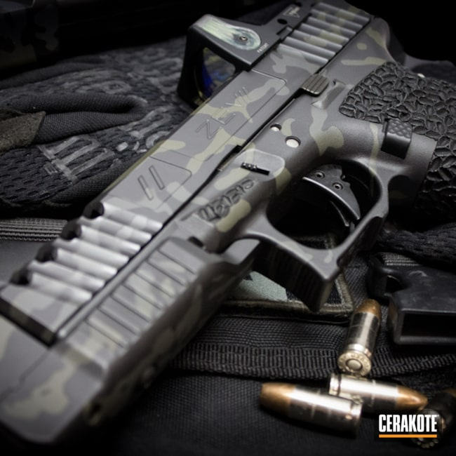 Zev Glock in a MultiCam Finish