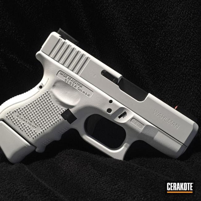 Cerakoted: Bright White H-140,Pistol,Glock