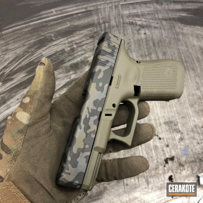 Cerakoted: Sniper Grey H-234,Graphite Black H-146,Pistol,Glock,O.D. Green H-236,MultiCam Black