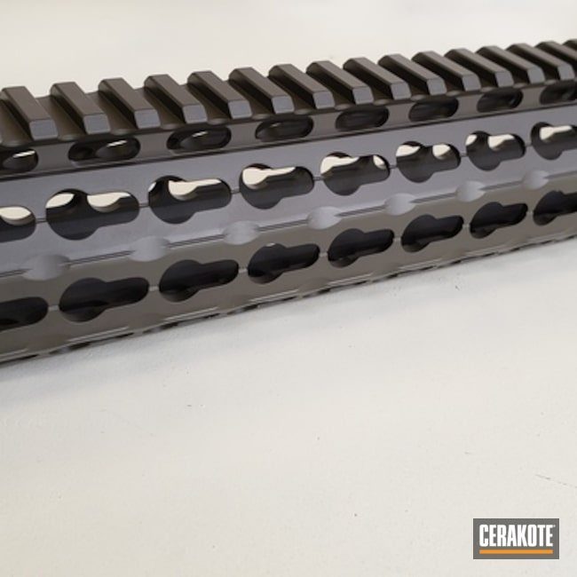 Cerakoted: Handguard,MAGPUL® O.D. GREEN H-232,AR15 Parts