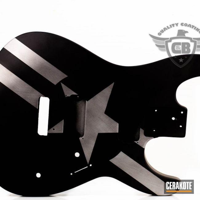 Cerakoted: Satin Aluminum H-151,More Than Guns,Music,Guitar,Stars and Bars
