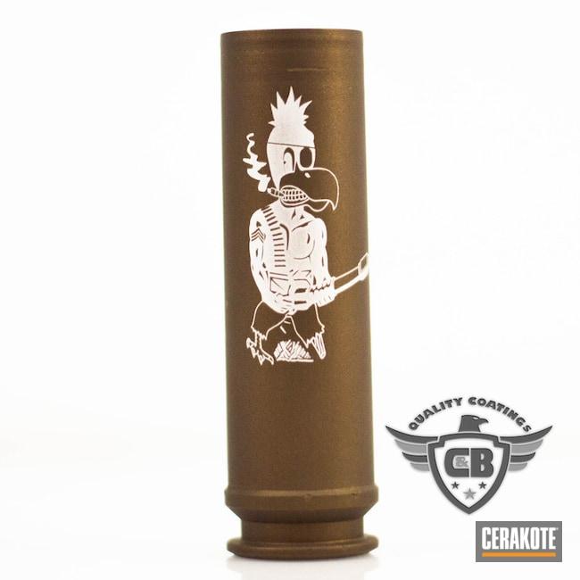 Cerakoted: Engraving,Apache,Burnt Bronze H-148,Laser Engrave