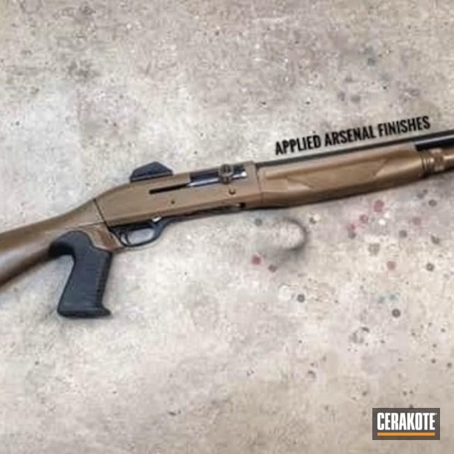 Cerakoted: Shotgun,Patriot Brown H-226