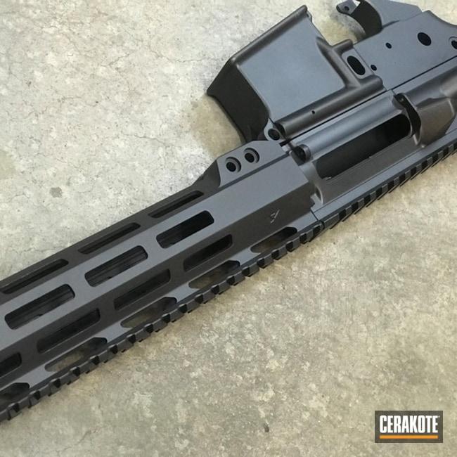 Cerakoted: Sniper Grey H-234,Upper / Lower / Handguard,Solid Tone,Steve Williams,Christopher Miller