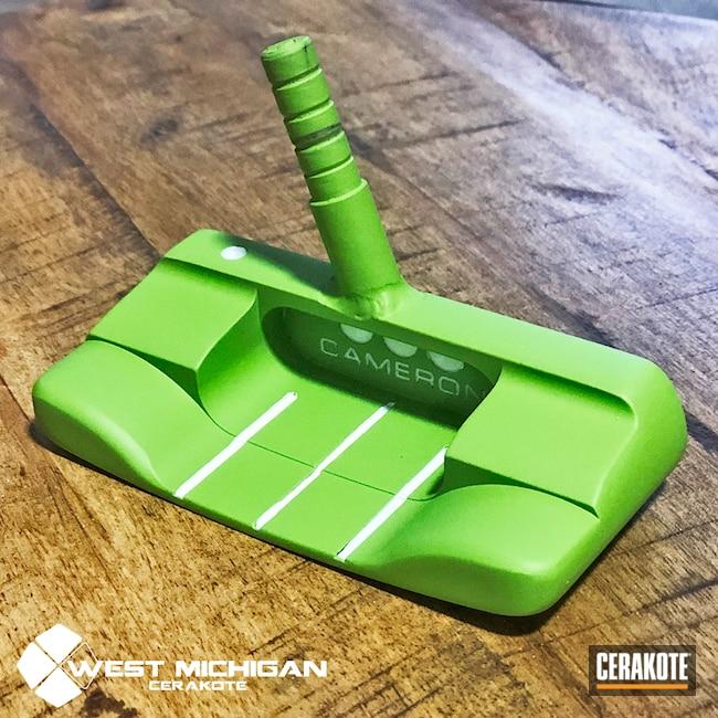 Cerakoted: Putter,Golf Putter,Golf,Scotty Cameron Putter,Sports,Zombie Green H-168,More Than Guns