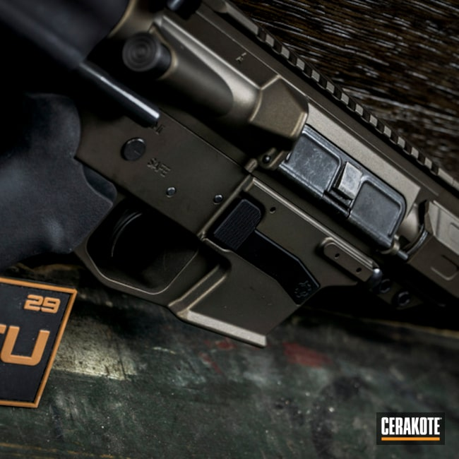 "Thumbnail image for project ""CMMG AR Pistol with Cerakote H-294"""