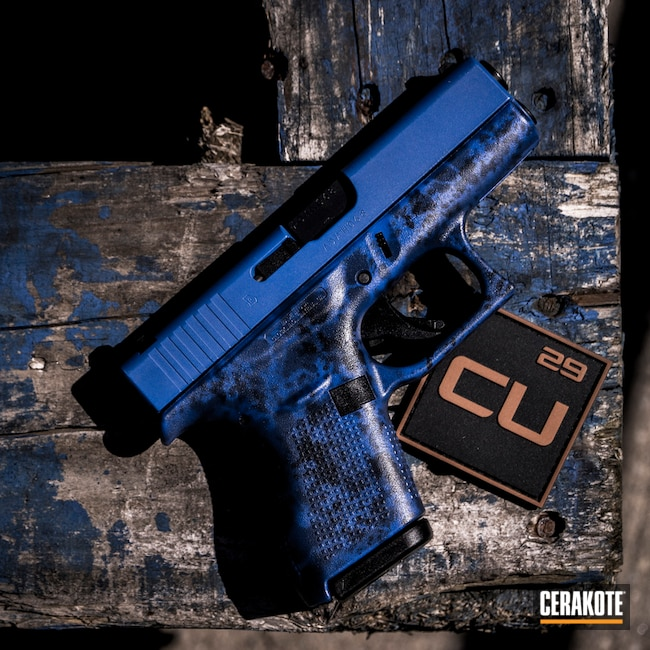 "Thumbnail image for project ""Custom Glock Cerakote Finish with H-245, H-127 and H-171"""
