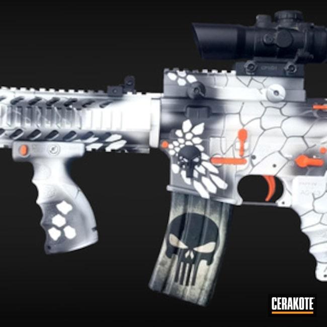 Cerakoted: Bright White H-140,Graphite Black H-146,Tactical Rifle,Glock,Tactical Grey H-227,Hunter Orange H-128,Matching Set,Custom Camo,AR-15