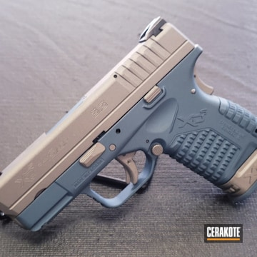Cerakoted Springfield Xd With Cerakote H-185 And H-152