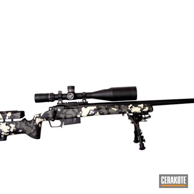 Cerakoted: Bolt Action Rifle,MultiCam,Snow White H-136,Graphite Black H-146,Tactical Grey H-227,Custom Camo,Long Range Tactical Rifle
