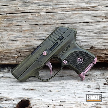 Cerakoted Distressed Ruger Lcp
