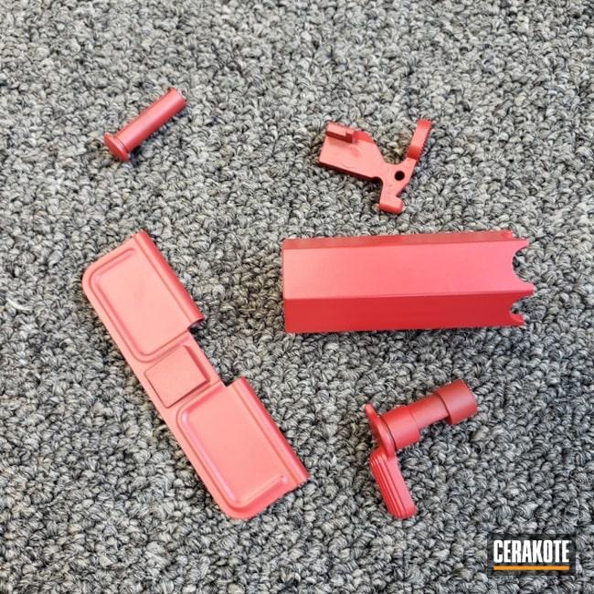 Cerakoted: For the Girls,Valentines,Girls,Gloss Black H-109,USMC Red H-167,Intertwined,Girls Gun,Gun Parts,Love,Emotion,Valentine's Day