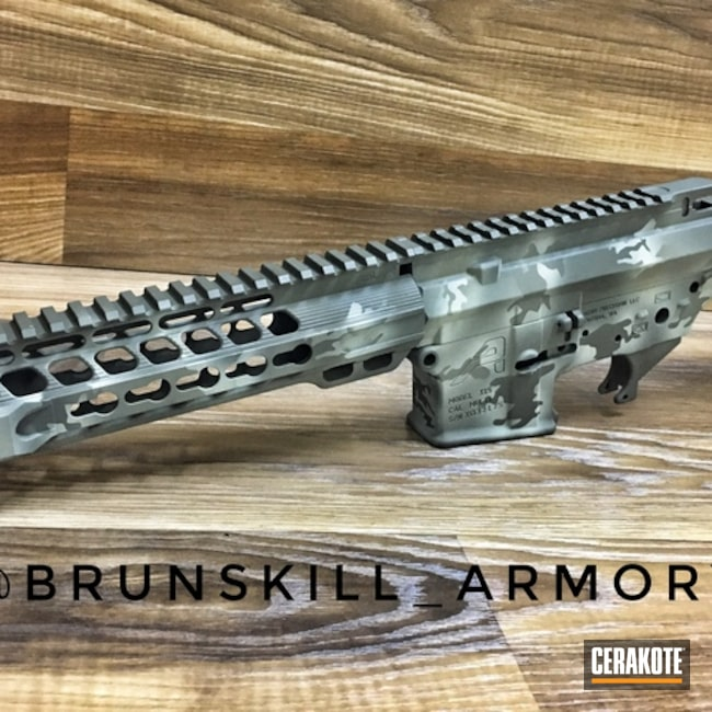 "Thumbnail image for project ""Upper / Lower / Handguard with a Cerakote MultiCam Finish"""