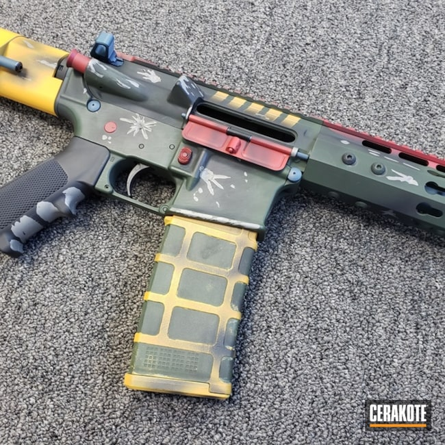 Boba Fett Themed AR-15