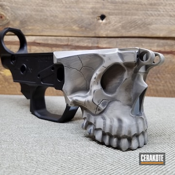 Cerakoted Custom Cerakoted Spike's Tactical Lower Receiver